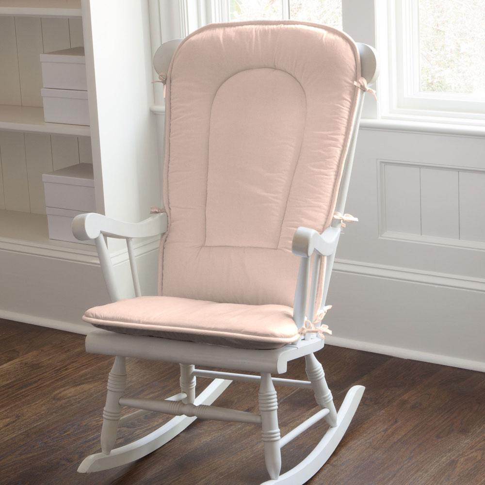 Product image for Solid Peach Rocking Chair Pad