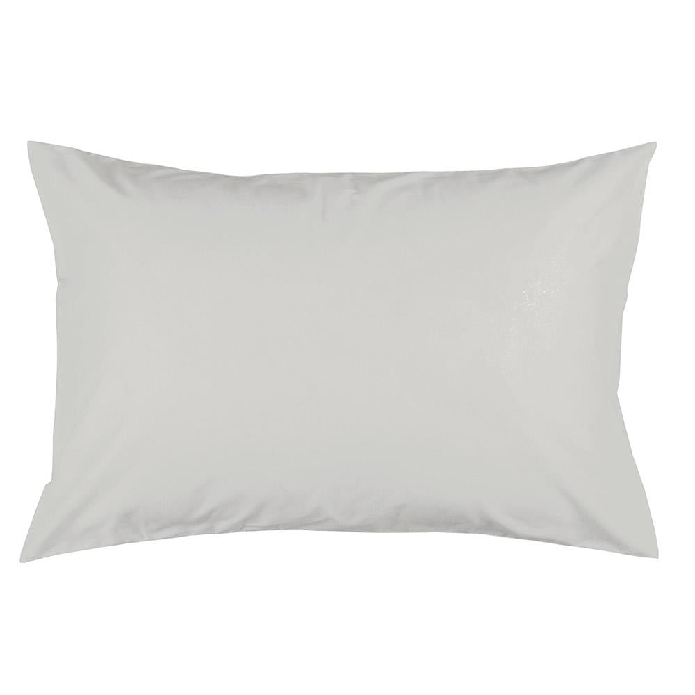 Product image for Solid Silver Gray Pillow Case