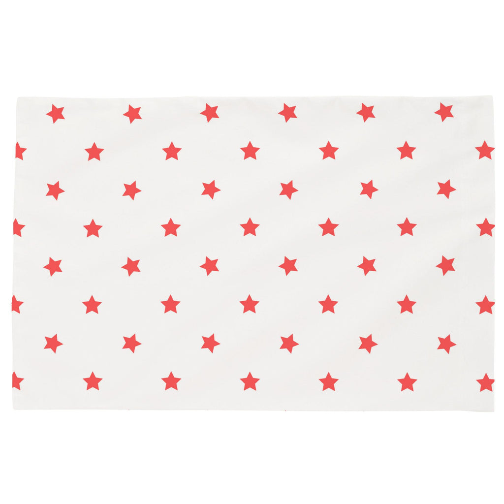 Product image for Coral Stars Toddler Pillow Case