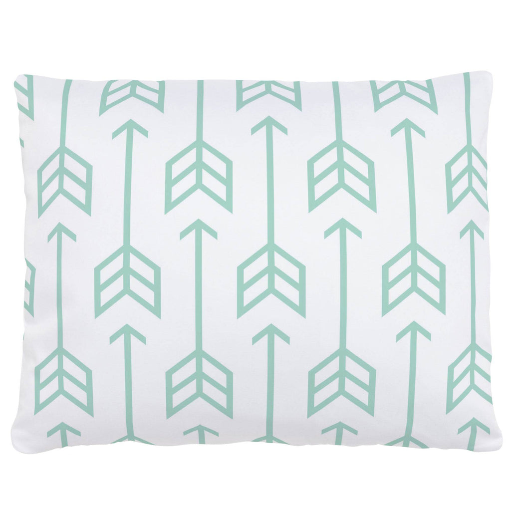 Product image for Mint Arrow Accent Pillow