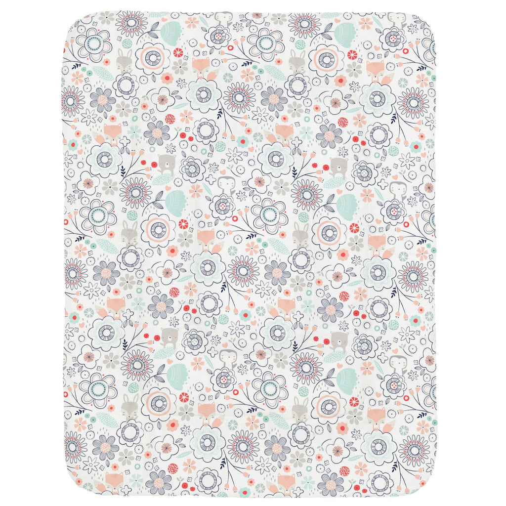 Product image for Coral Spring Doodles Crib Comforter