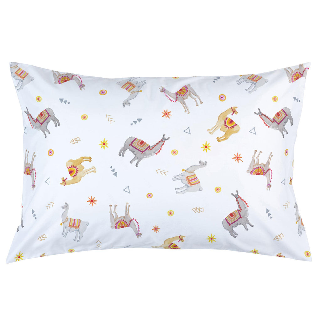 Product image for Festive Llamas Pillow Case