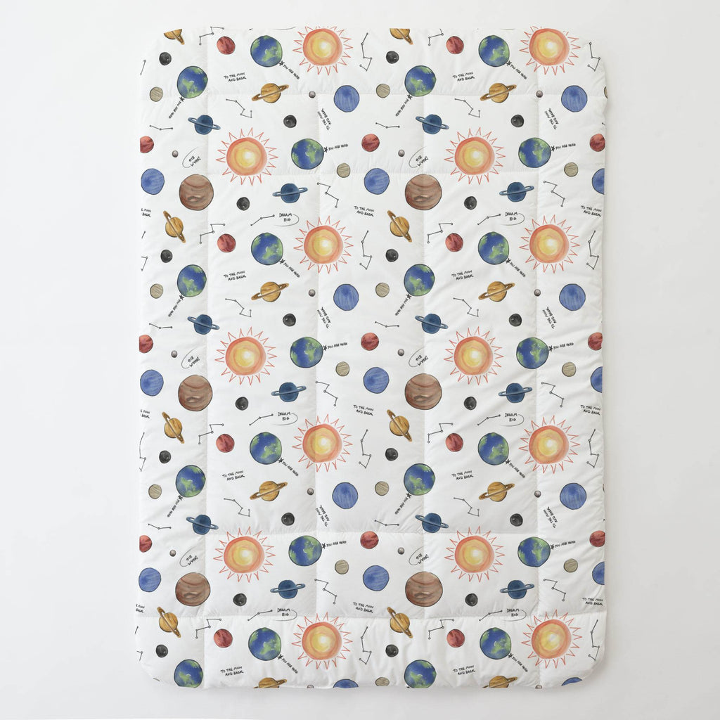 Product image for Solar System Toddler Comforter