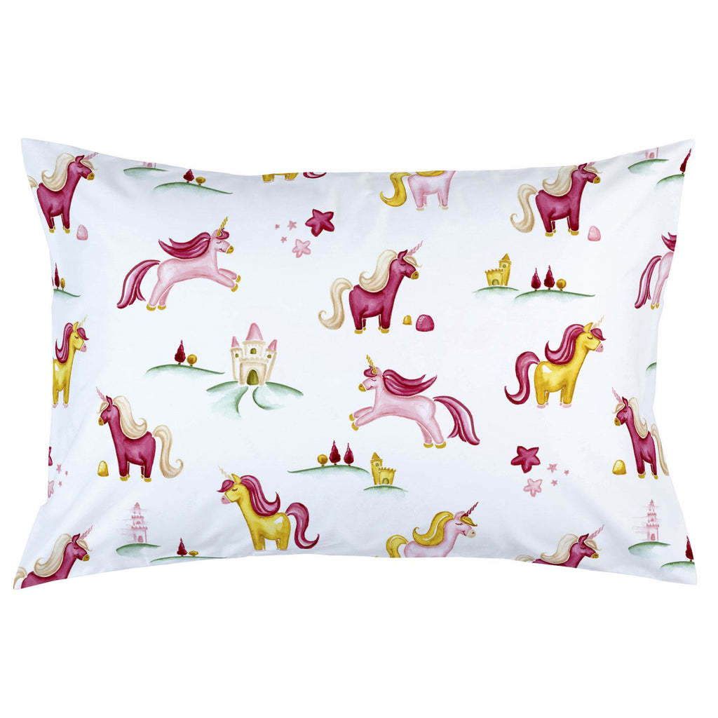 Product image for Painted Unicorns Pillow Case
