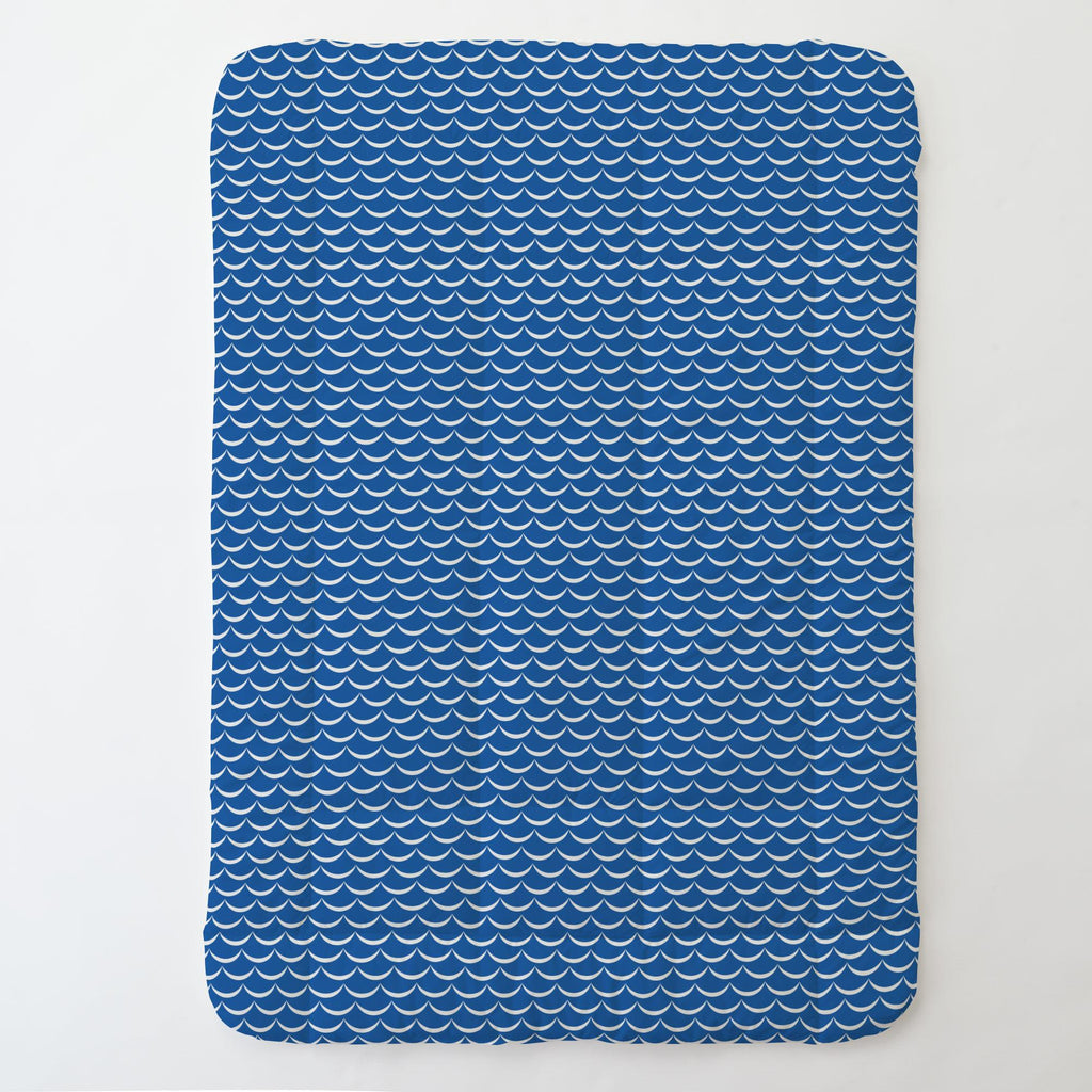 Product image for Ocean Blue Waves Toddler Comforter