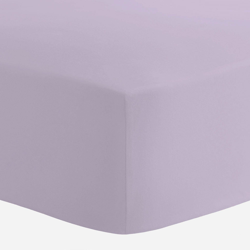 Product image for Solid Lilac Crib Sheet