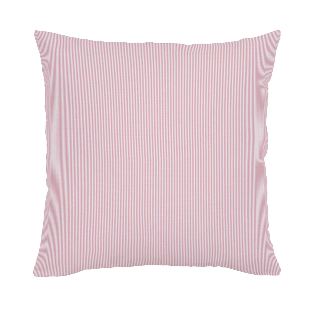 Product image for Pink Mini-Stripe Throw Pillow