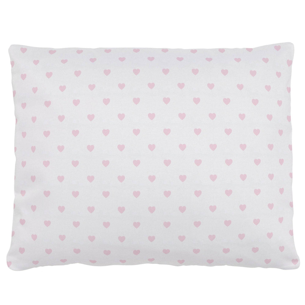 Product image for Pink Hearts Accent Pillow