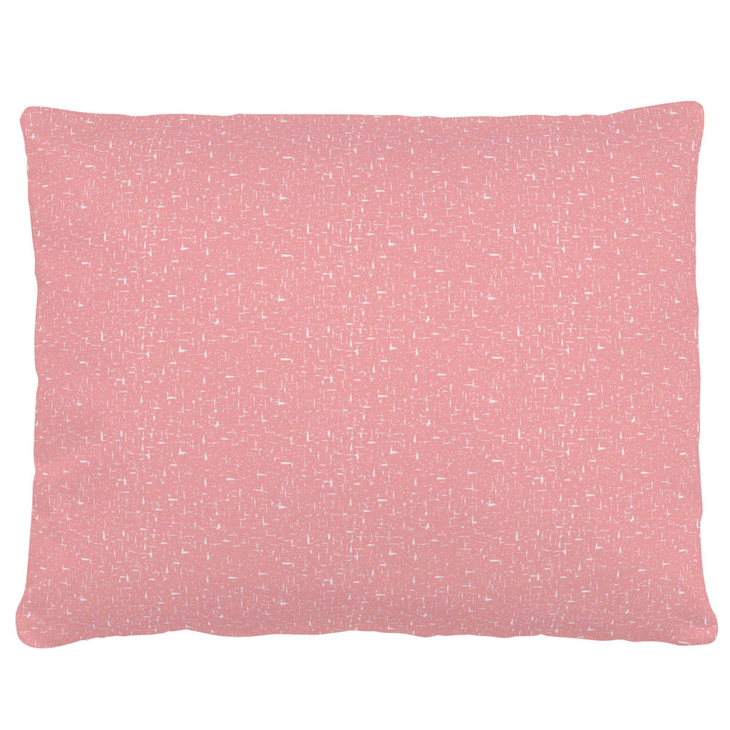 Product image for Coral Pink Heather Accent Pillow