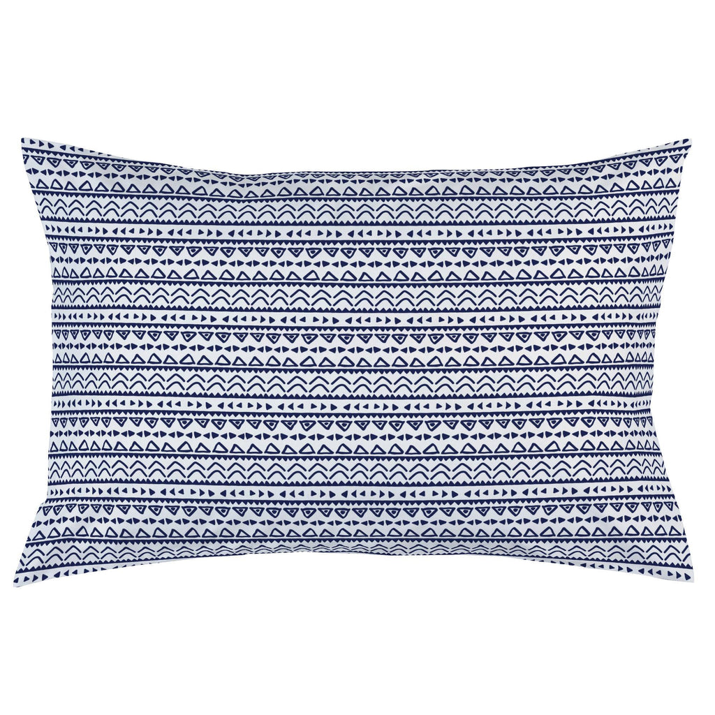 Product image for Windsor Navy Baby Aztec Pillow Case