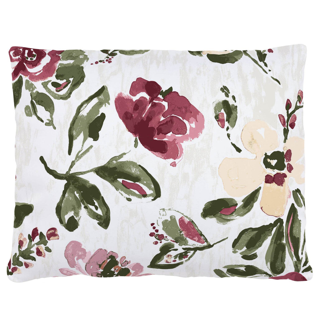 Product image for Merlot Garden Accent Pillow