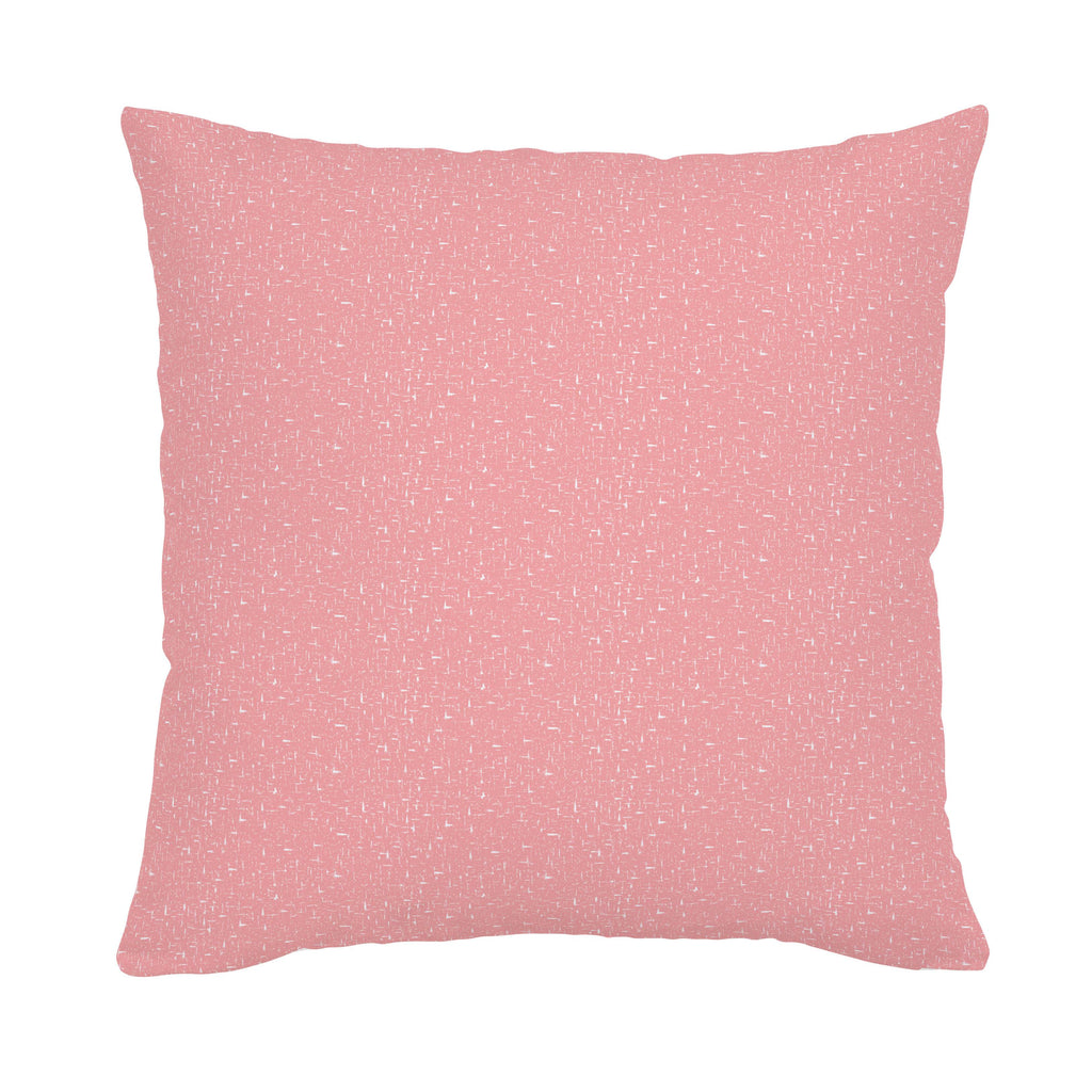 Product image for Coral Pink Heather Throw Pillow