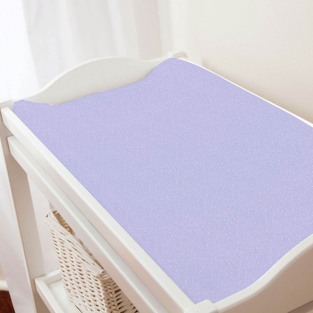 Product image for Lilac Heather Changing Pad Cover