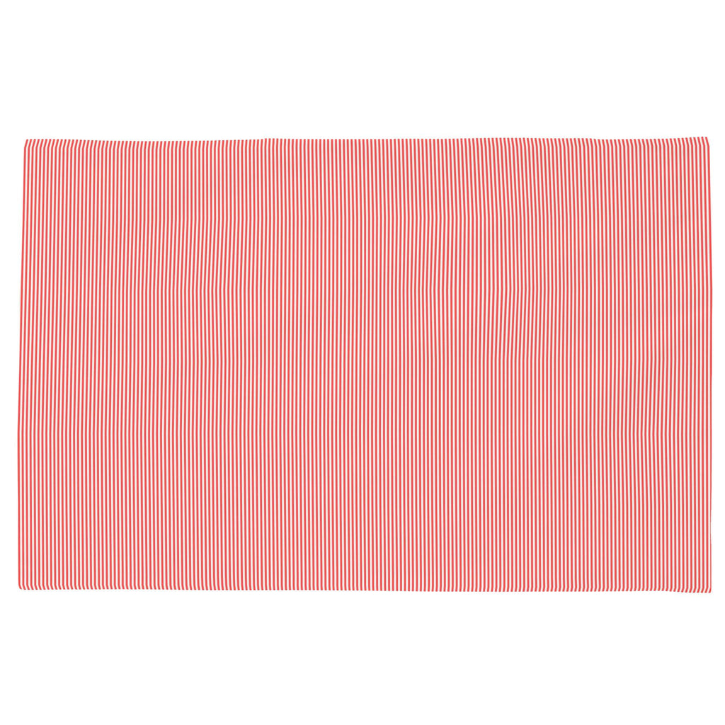 Product image for Coral Mini Stripe Toddler Pillow Case