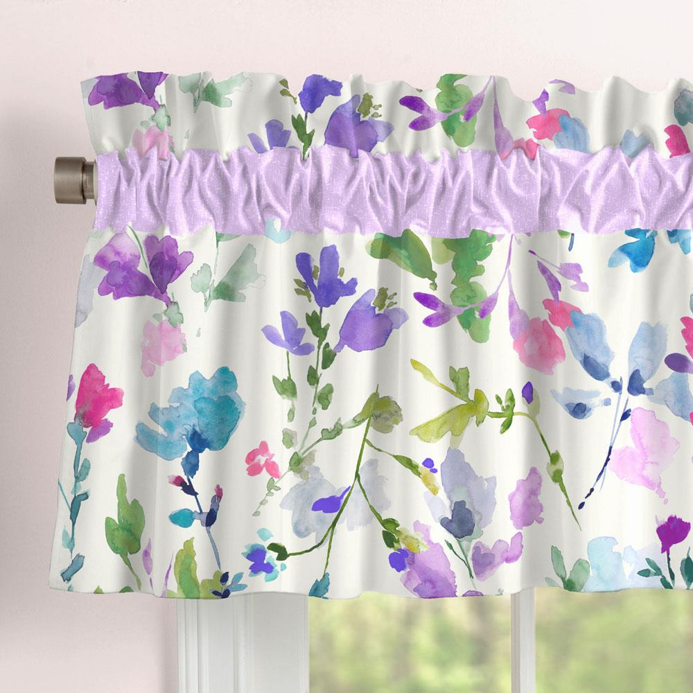Product image for Bright Wildflower Window Valance
