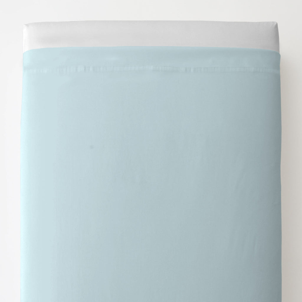Product image for Solid Mist Toddler Sheet Top Flat
