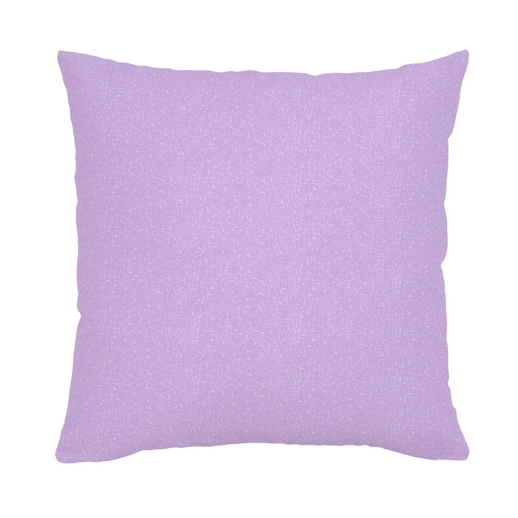 Product image for Pastel Purple Heather Throw Pillow