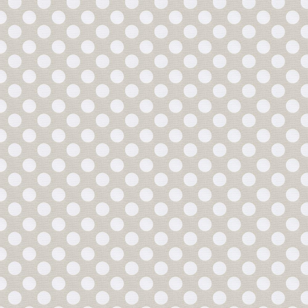 Product image for French Gray and White Dot Cradle Sheet