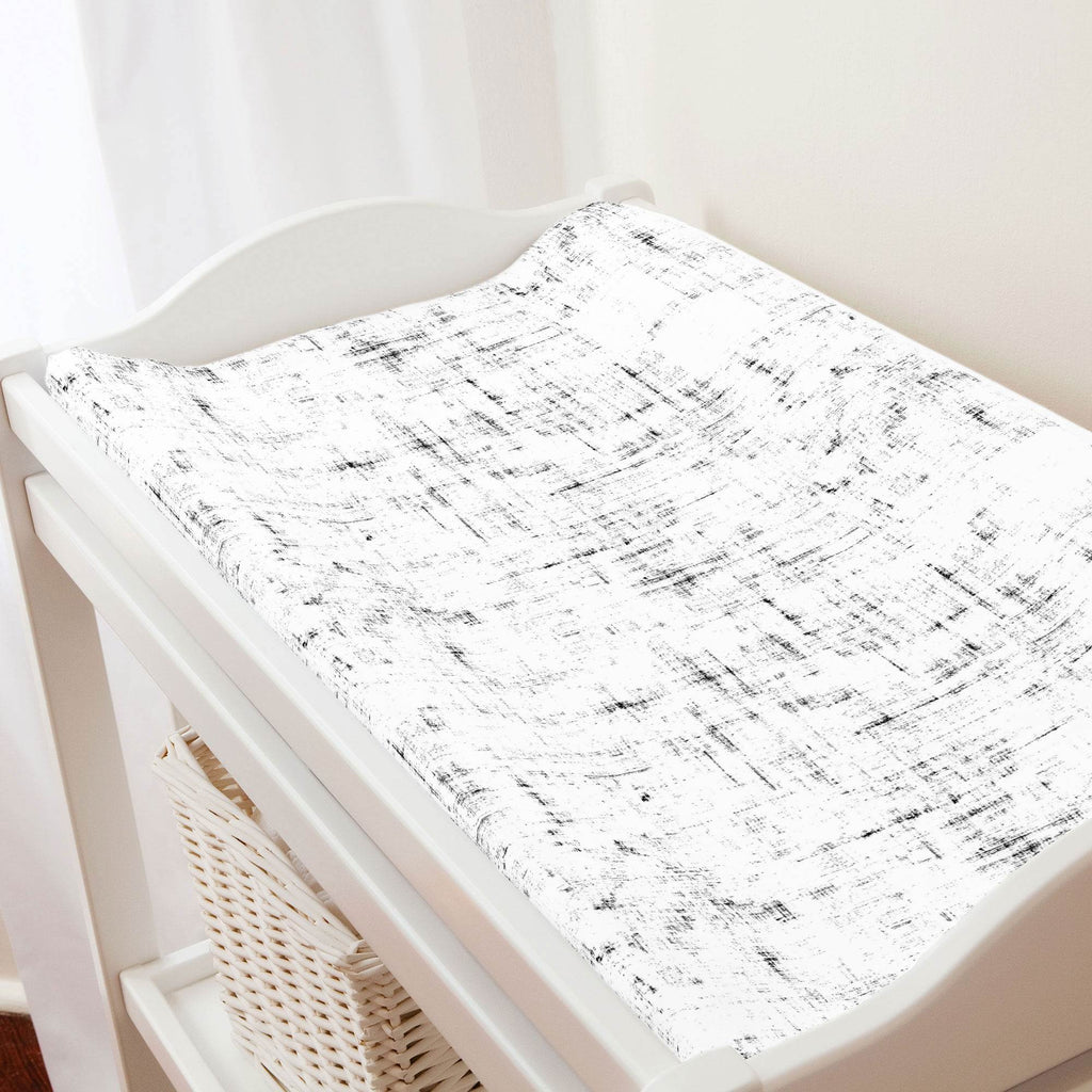 Product image for Onyx Distressed Changing Pad Cover