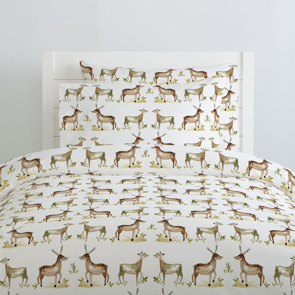 Product image for Painted Deer Duvet Cover