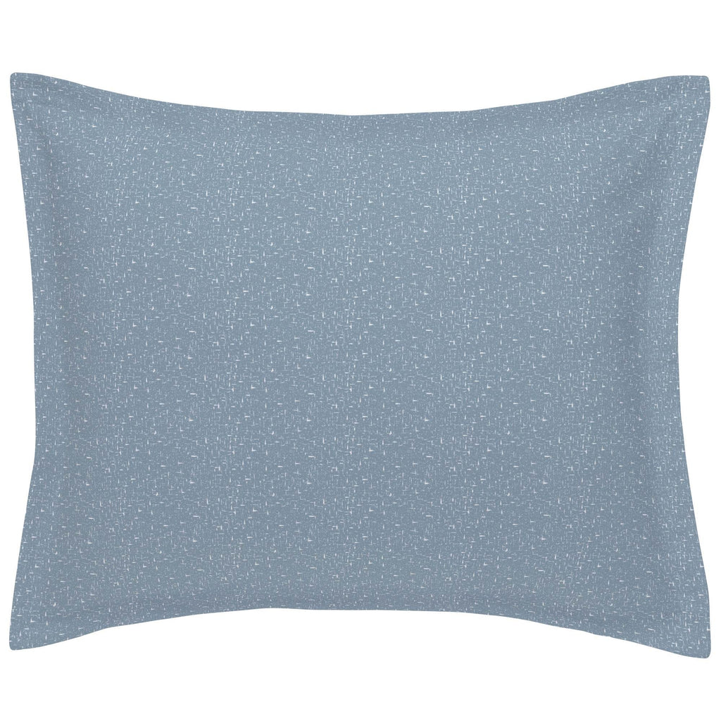 Product image for Steel Blue Heather Pillow Sham