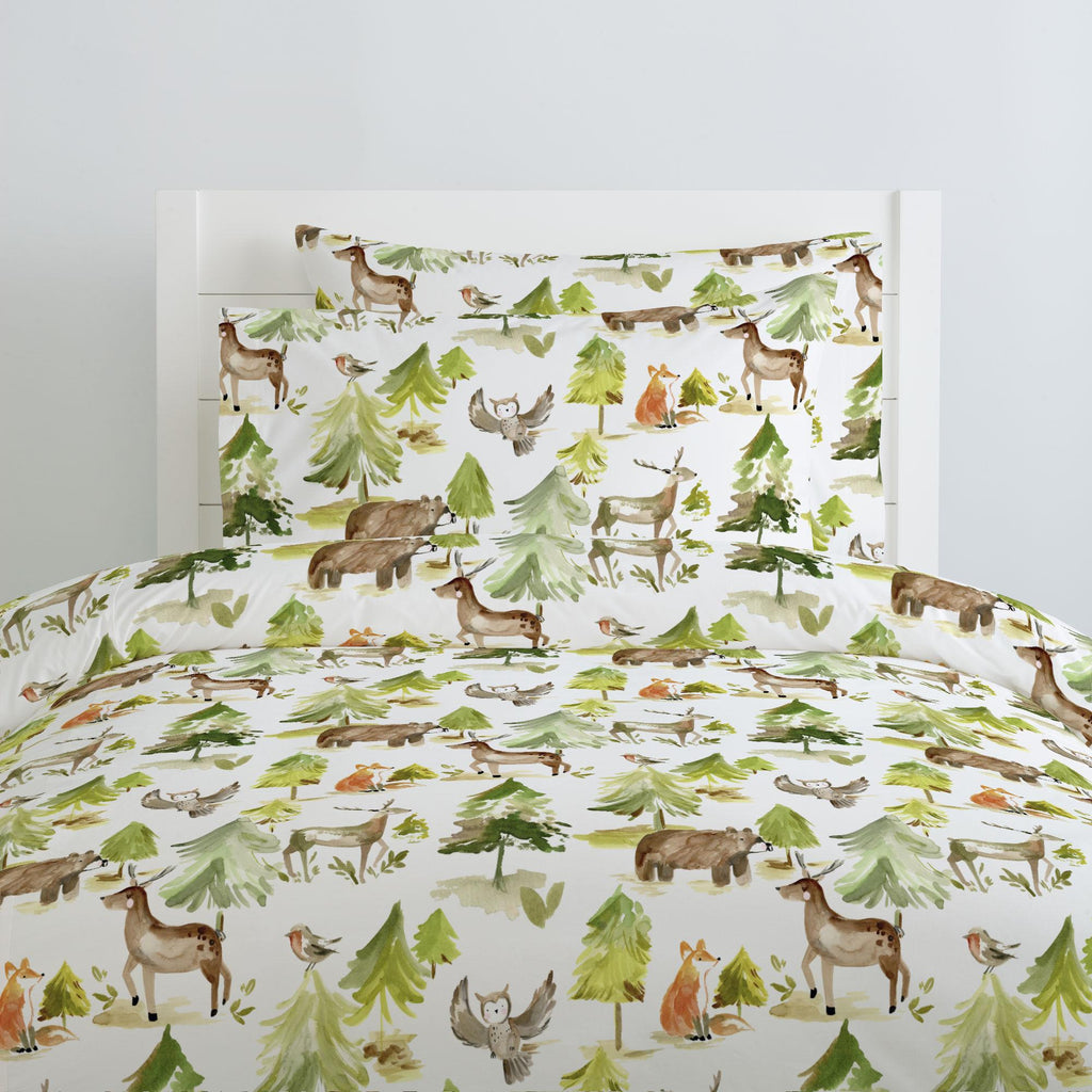 Product image for Painted Forest Duvet Cover
