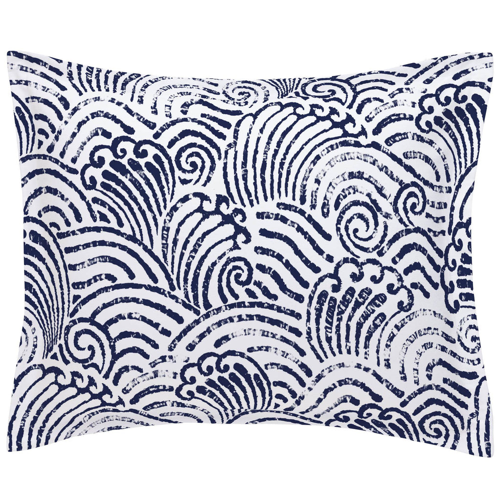 Product image for Navy Seas Pillow Sham