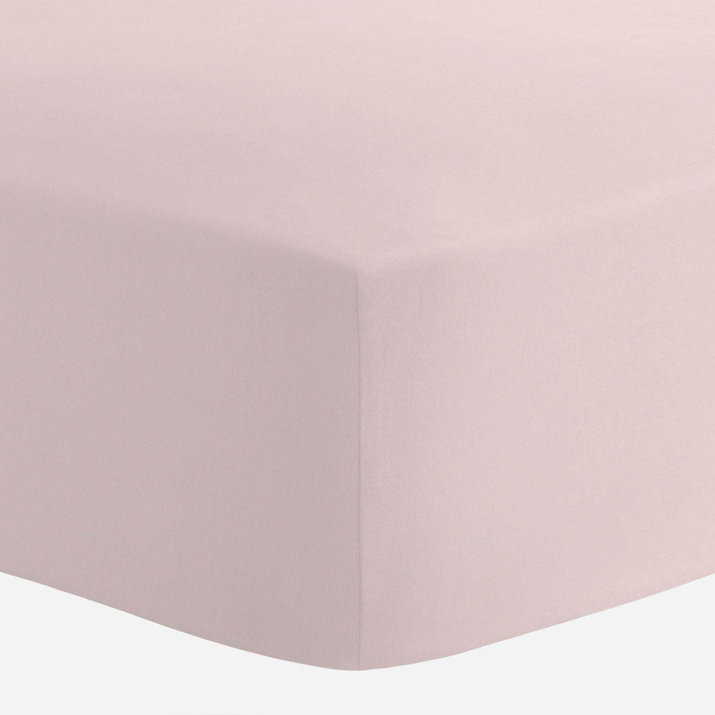 Product image for Solid Pink Crib Sheet