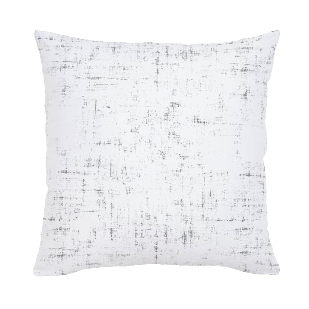Product image for Cloud Gray Distressed Throw Pillow