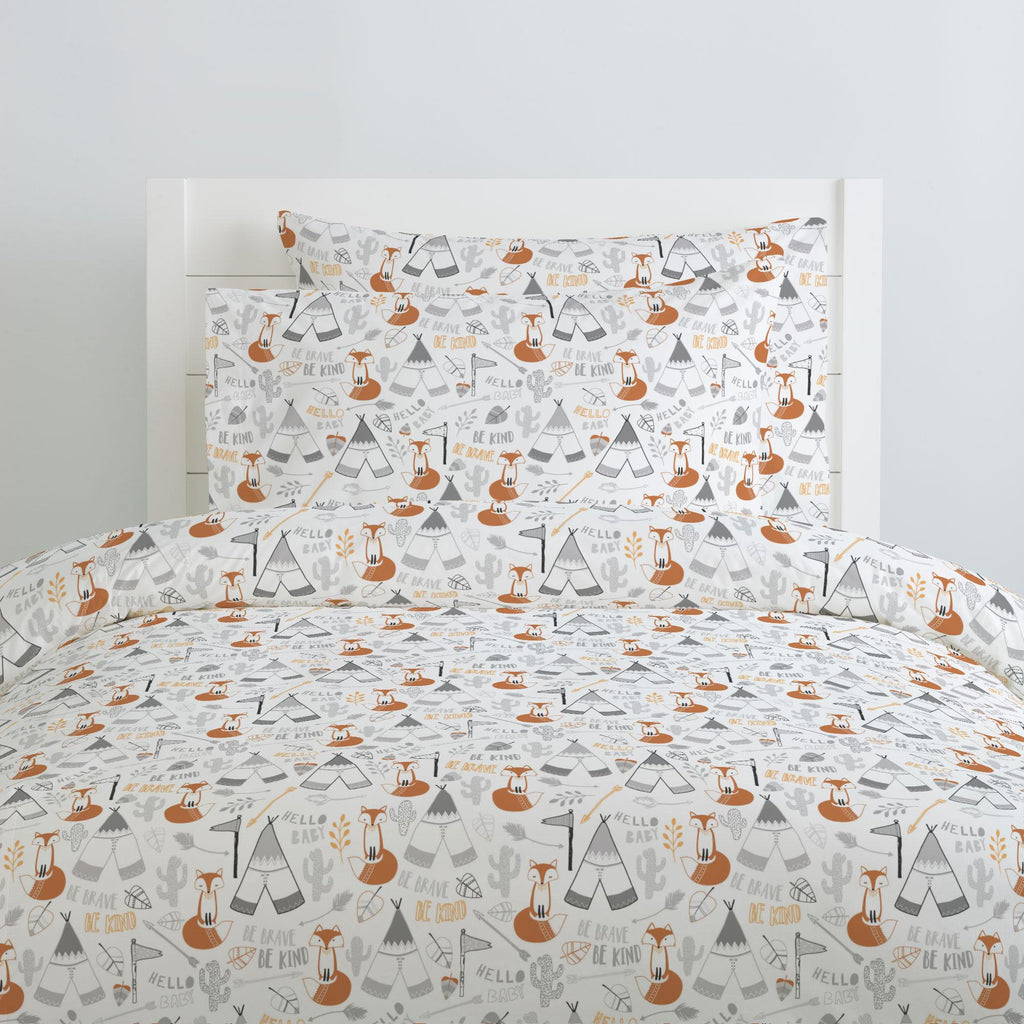 Product image for Brave Fox Duvet Cover