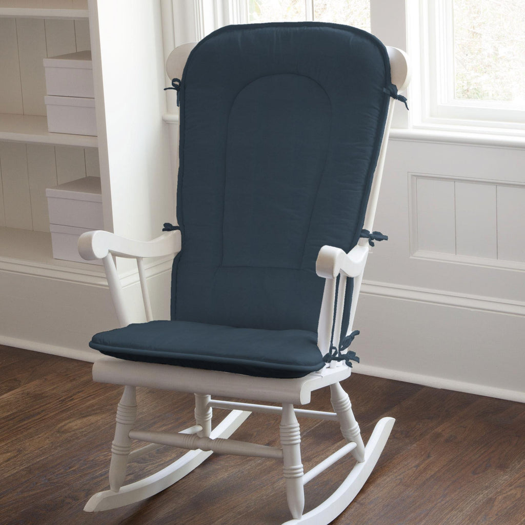Product image for Solid Navy Rocking Chair Pad