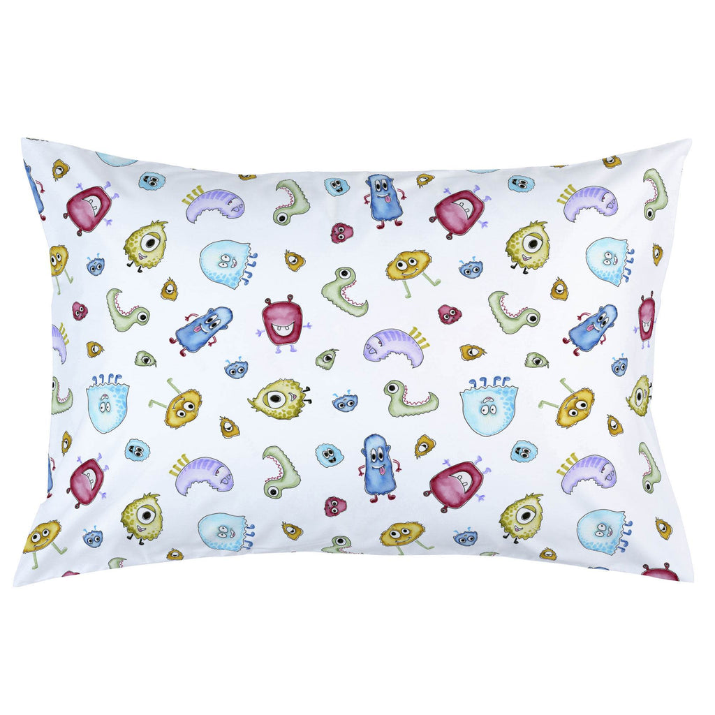 Product image for Watercolor Monsters Pillow Case