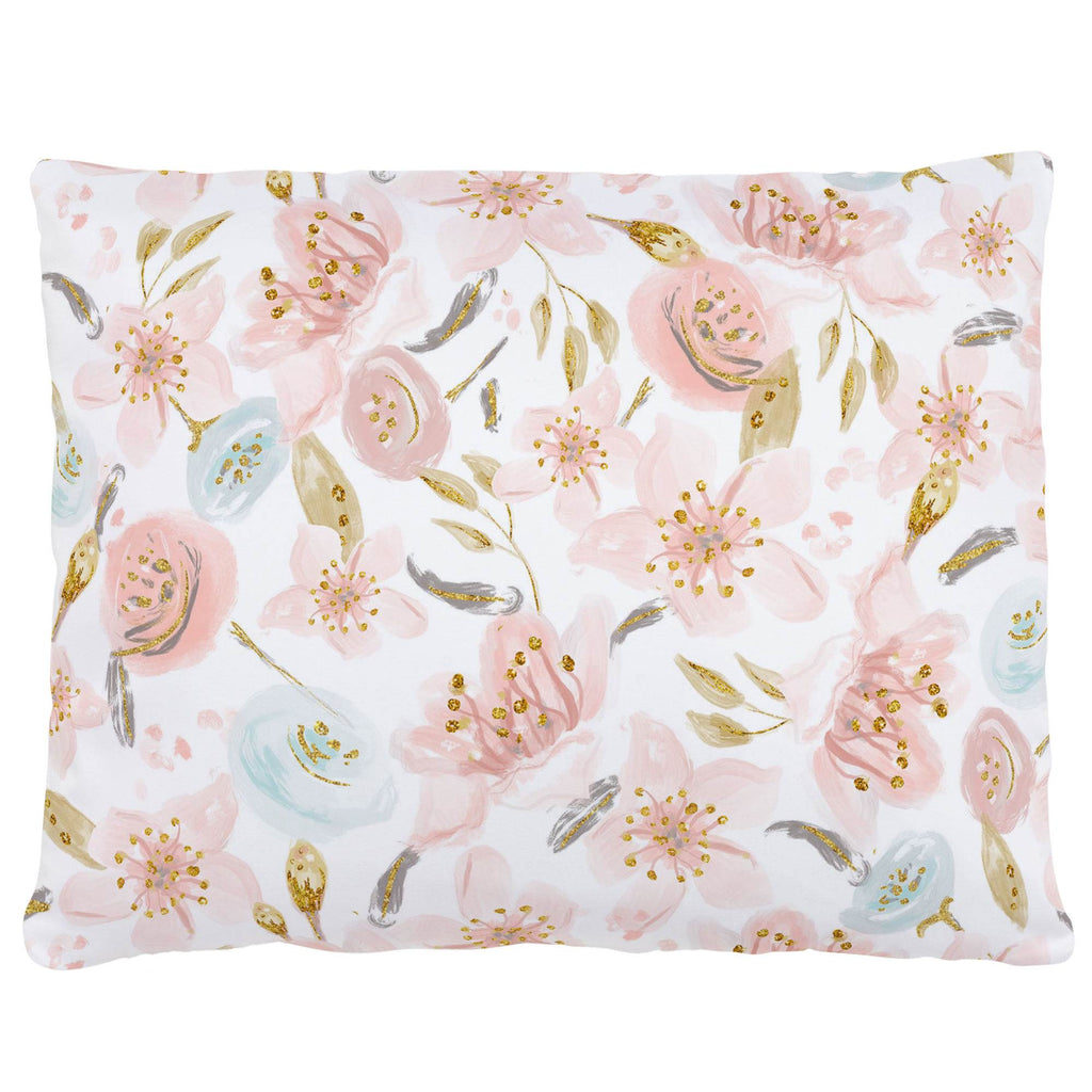 Product image for Pink Hawaiian Floral Accent Pillow