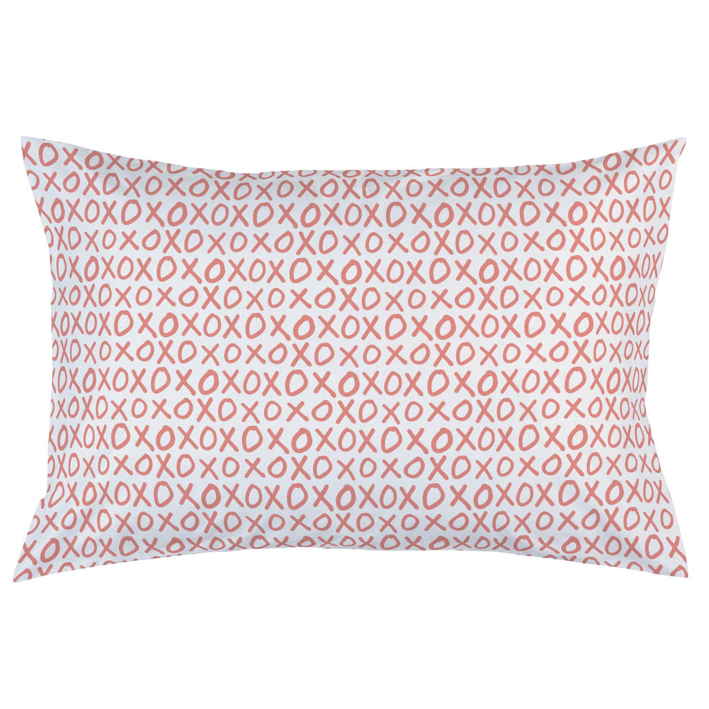 Product image for Light Coral XO Pillow Case