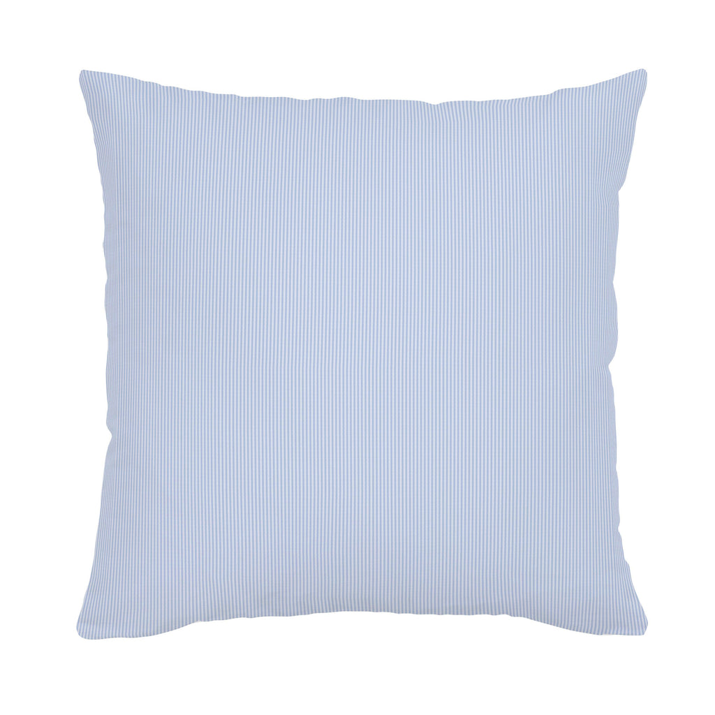Product image for Blue Mini-Stripe Throw Pillow