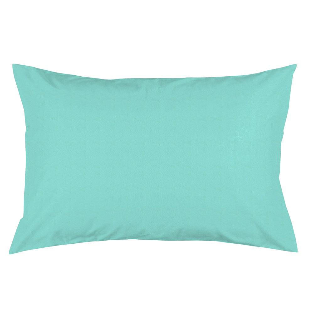 Product image for Solid Teal Pillow Case