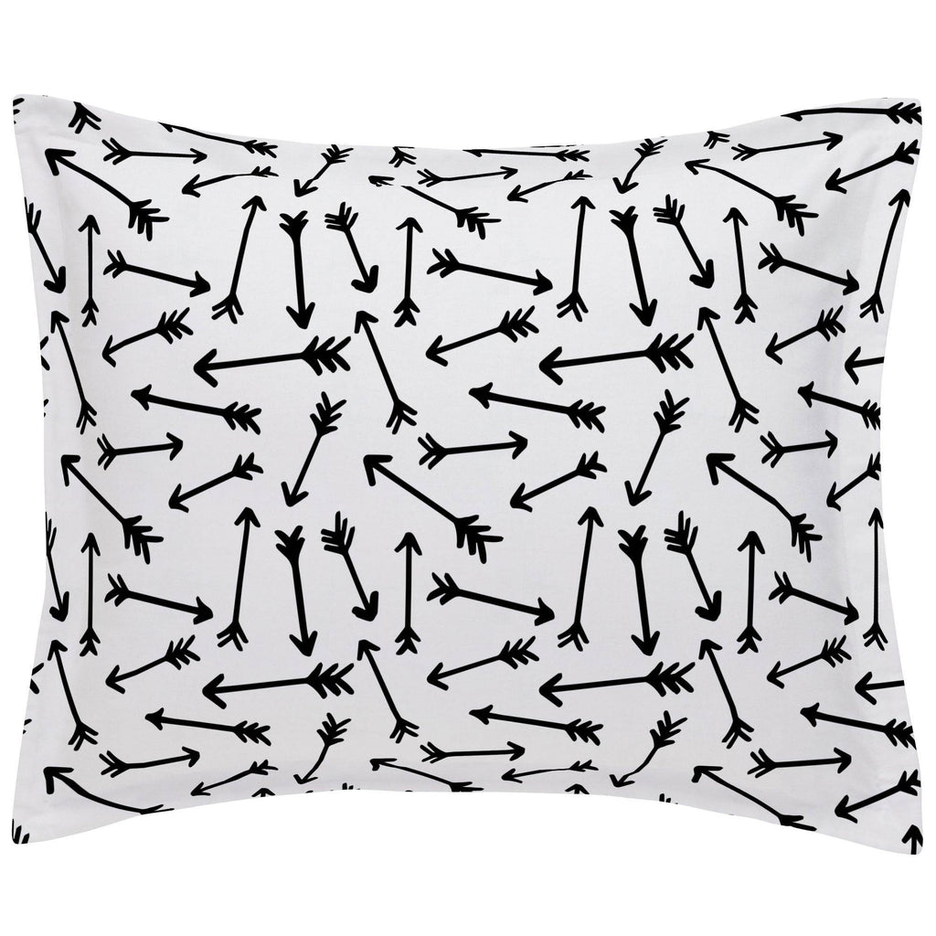 Product image for Onyx Whimsical Arrows Pillow Sham