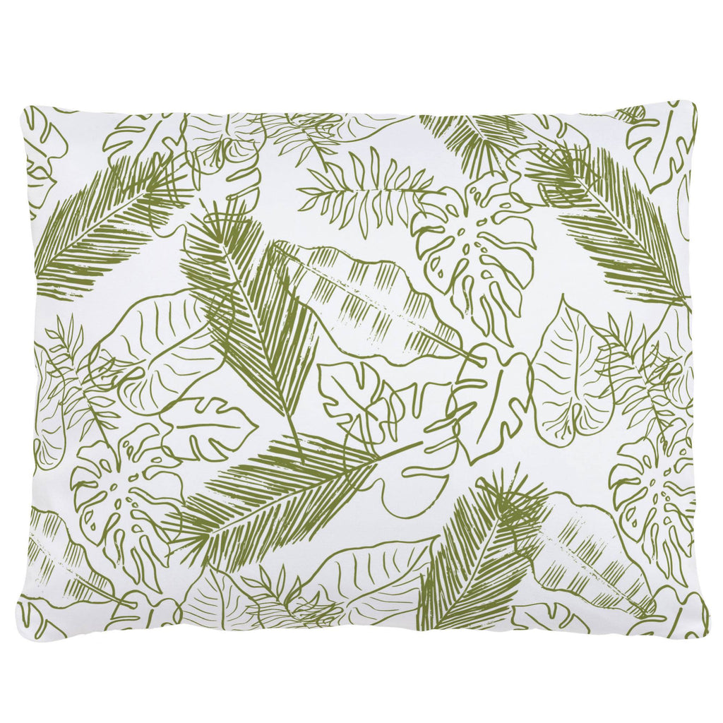Product image for Sage Palm Leaves Accent Pillow