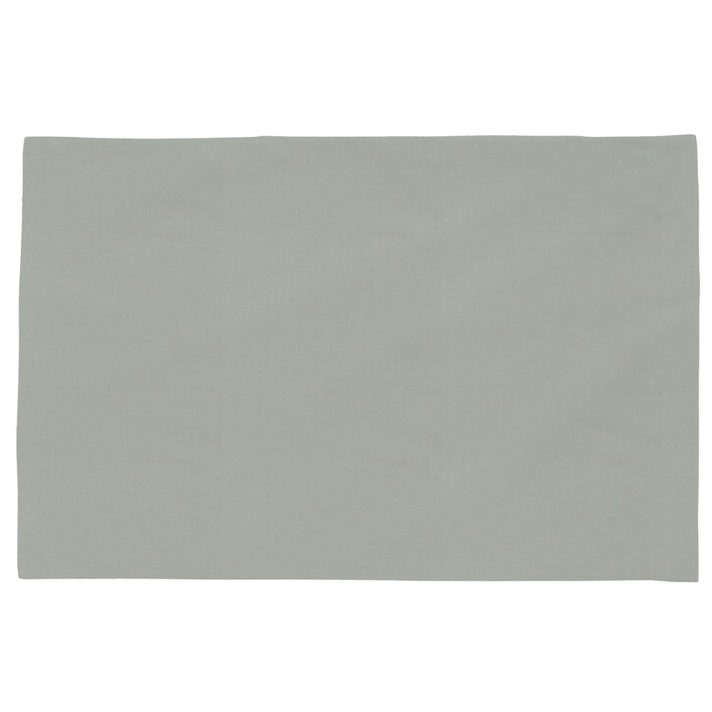 Product image for Solid Cloud Gray Toddler Pillow Case