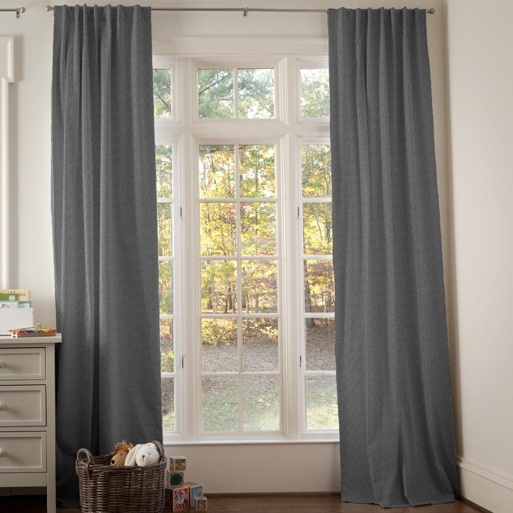 Product image for Dark Gray Heather Drape Panel