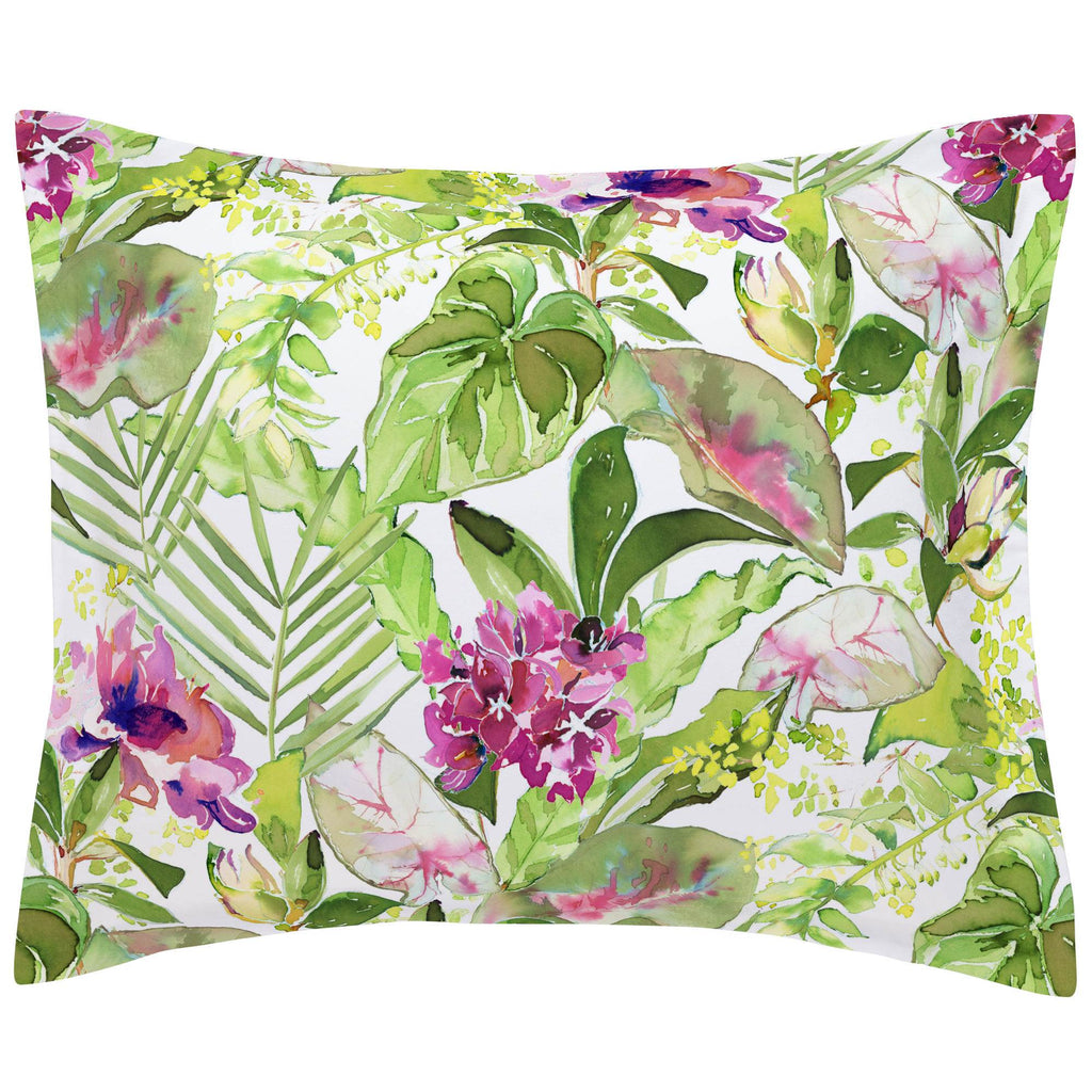 Product image for Tropical Garden Pillow Sham