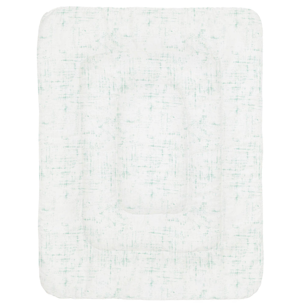 Product image for Mint Distressed Crib Comforter