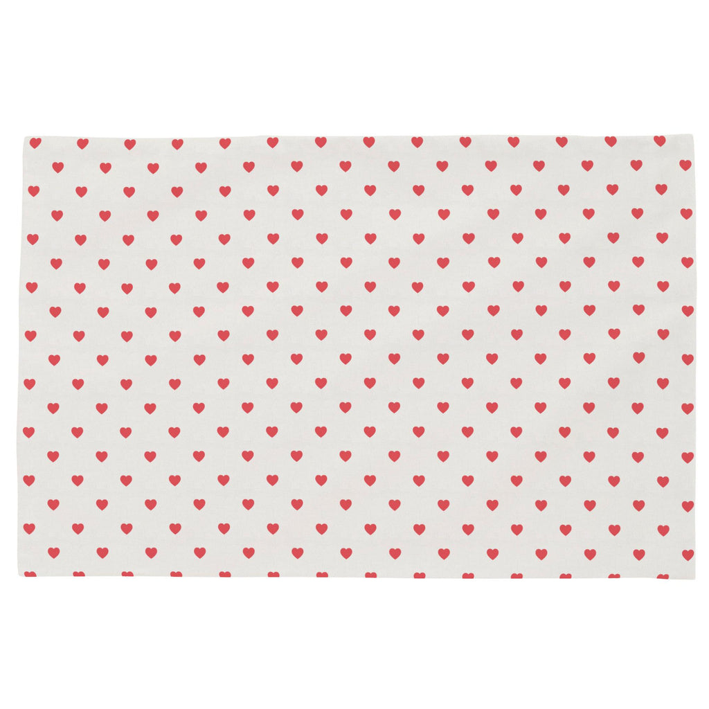 Product image for Coral Hearts Toddler Pillow Case