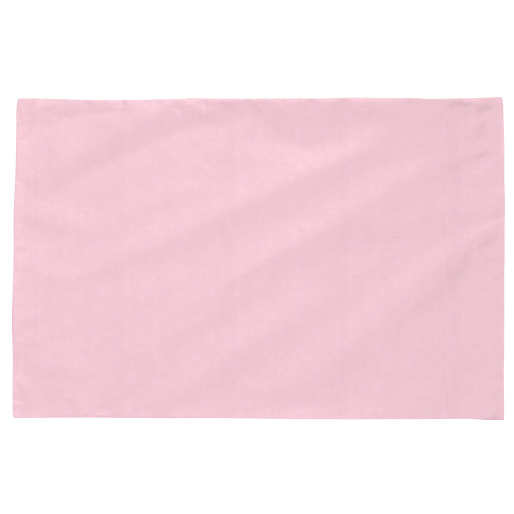 Product image for Solid Bubblegum Pink Toddler Pillow Case