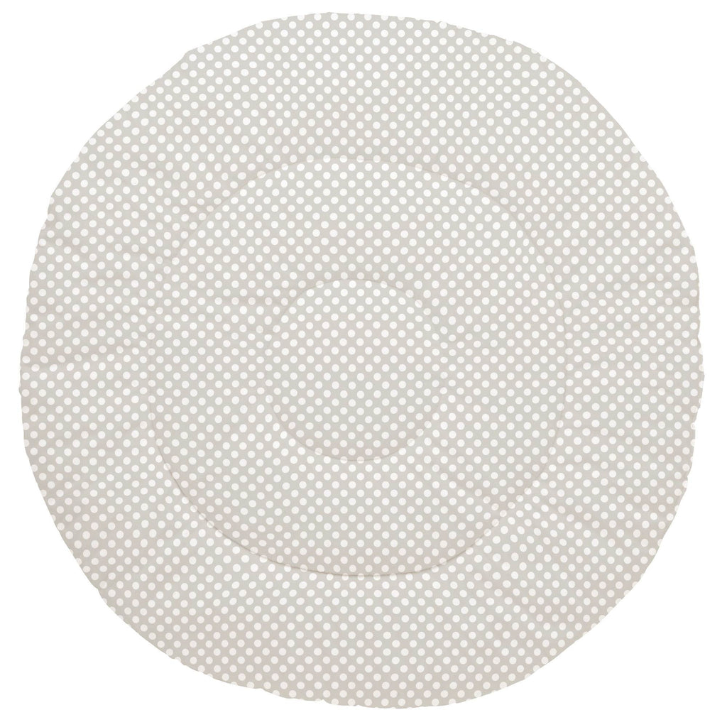 Product image for French Gray and White Dot Baby Play Mat