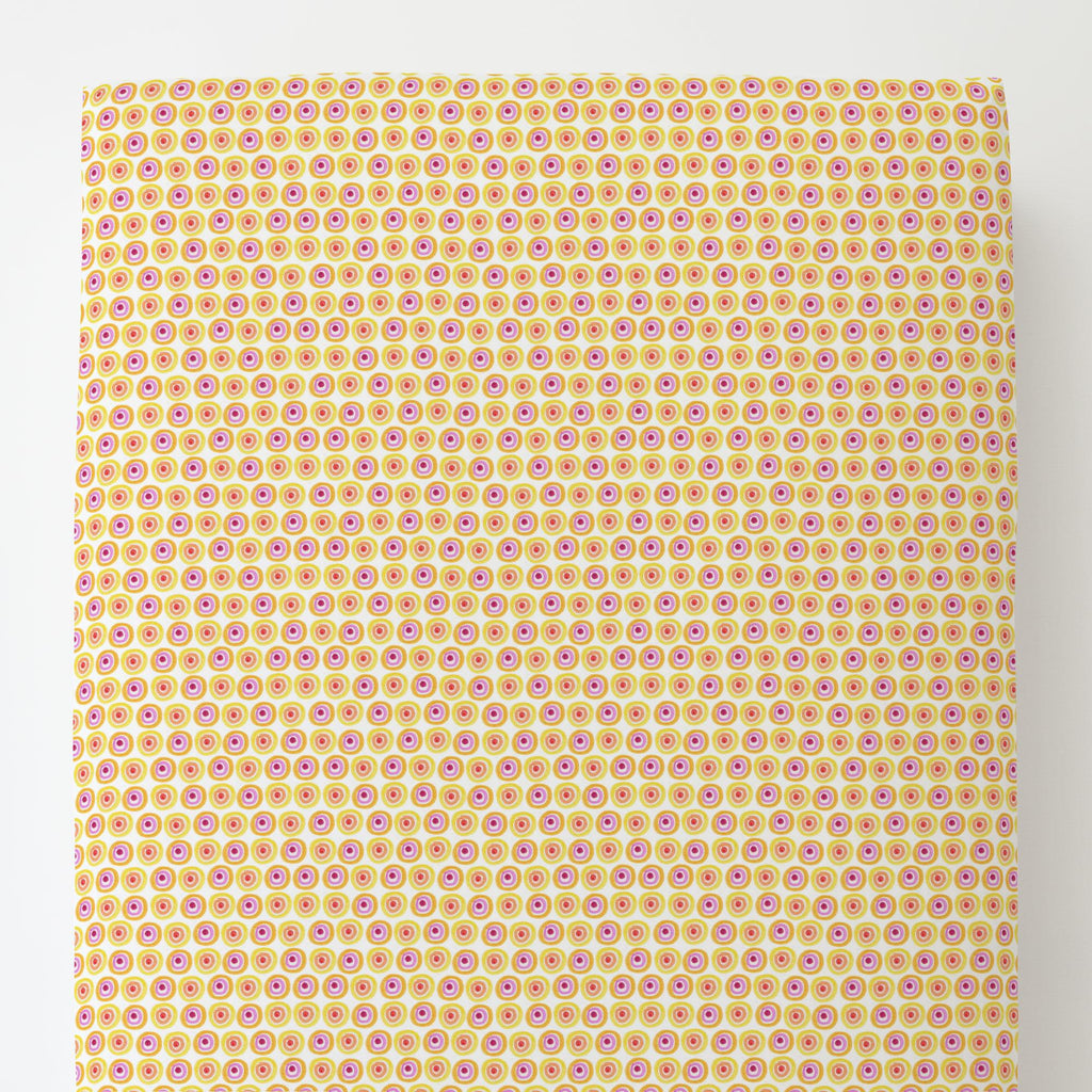 Product image for Festive Dots Toddler Sheet Bottom Fitted