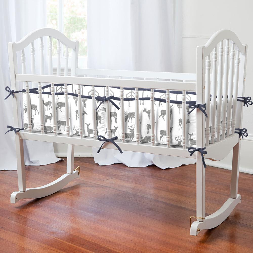 Product image for Cloud Gray Deer Cradle Bumper