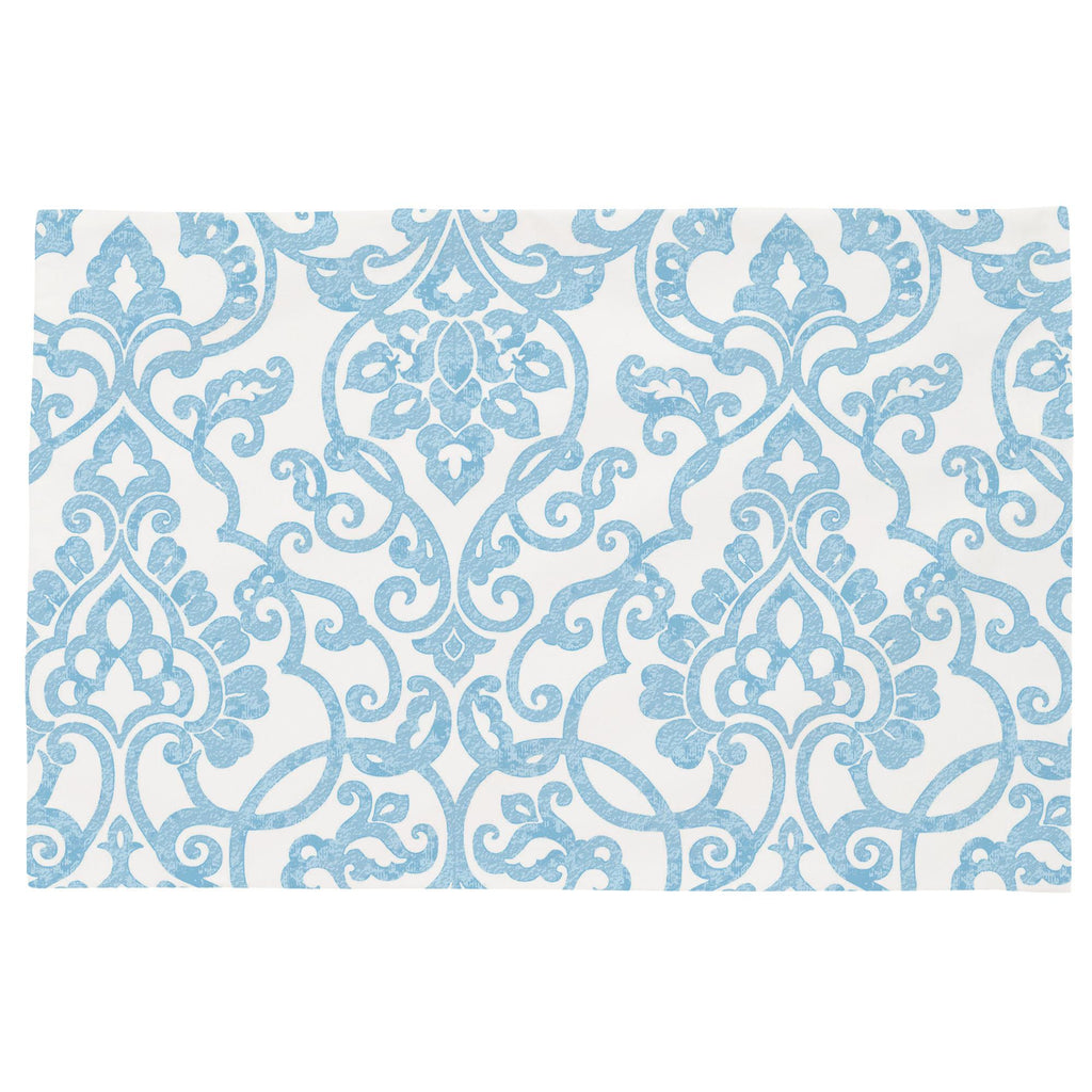 Product image for Blue Filigree Toddler Pillow Case