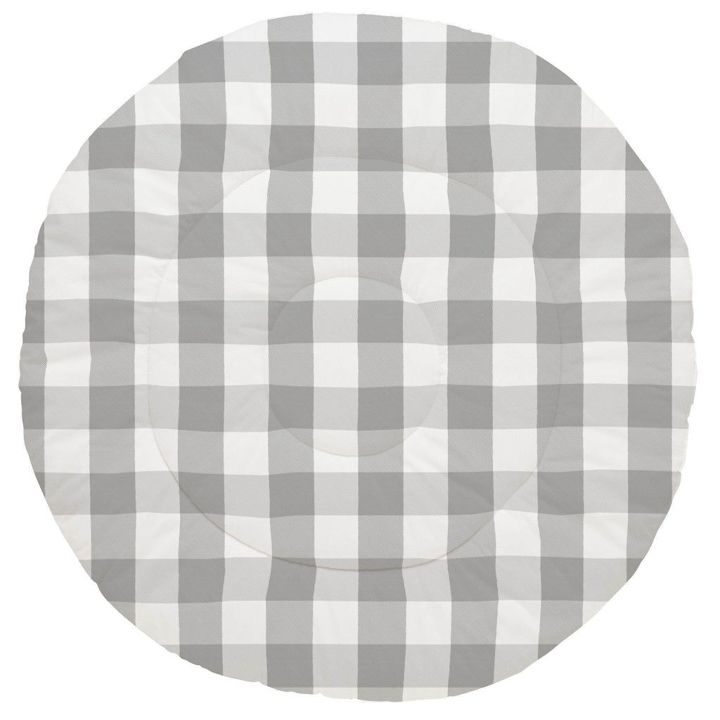 Product image for Gray Buffalo Check Baby Play Mat