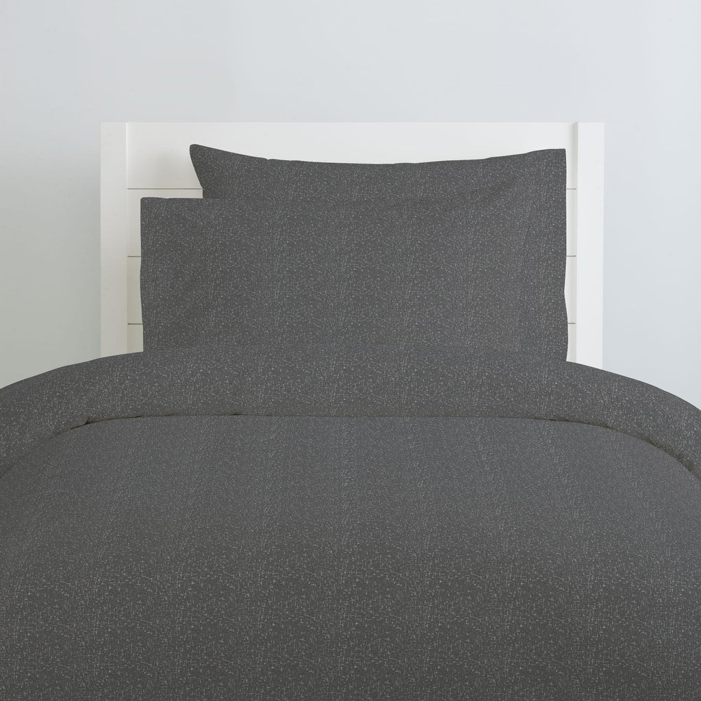 Product image for Dark Gray Heather Duvet Cover